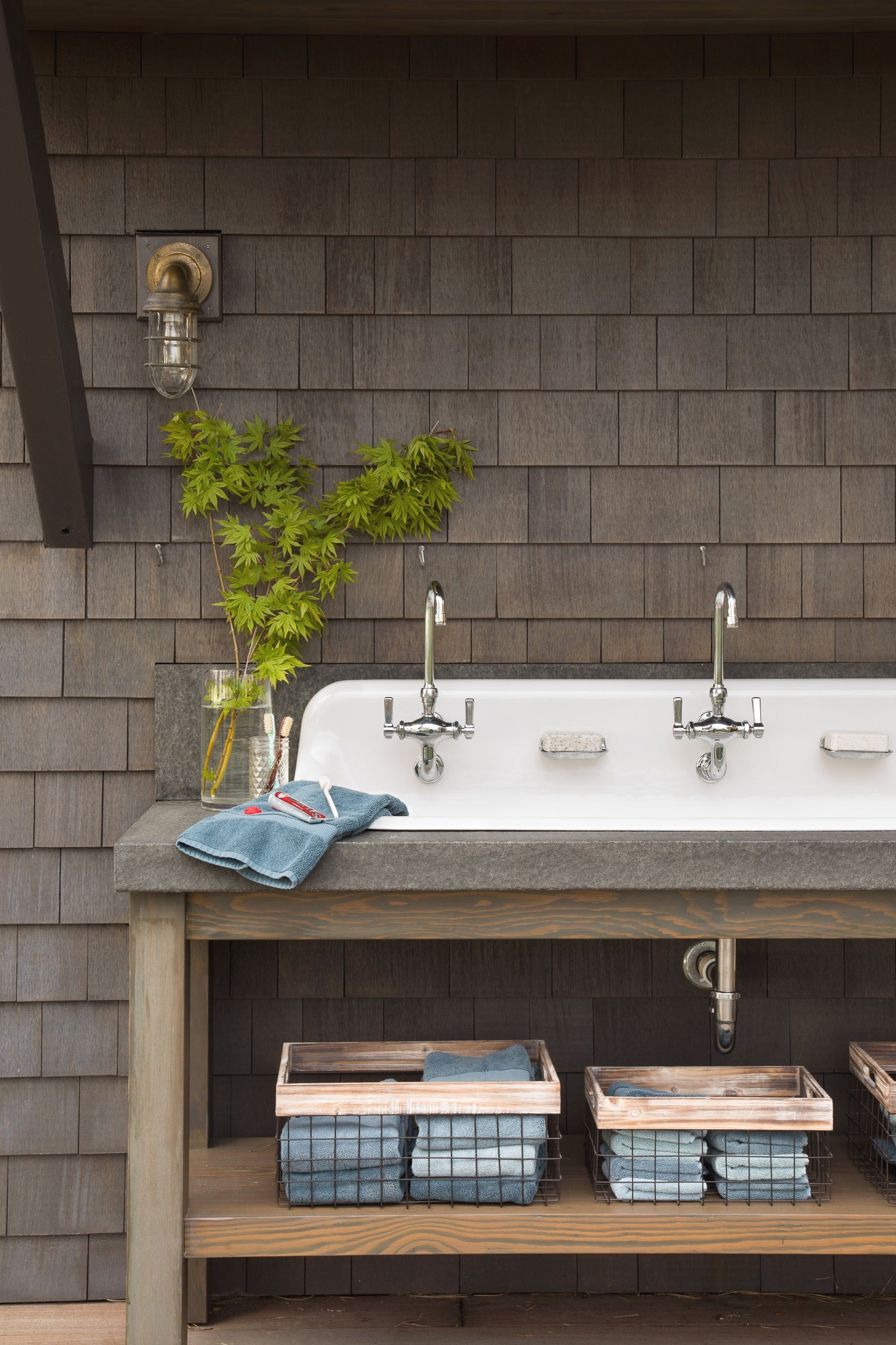 Get On Deck With New Outdoor Living Options Outdoor Sinks