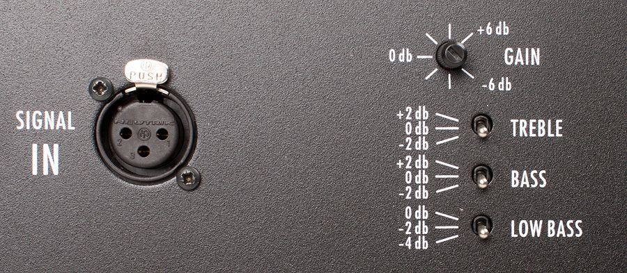 Profel PS81 -aktiivikaiuttimet.