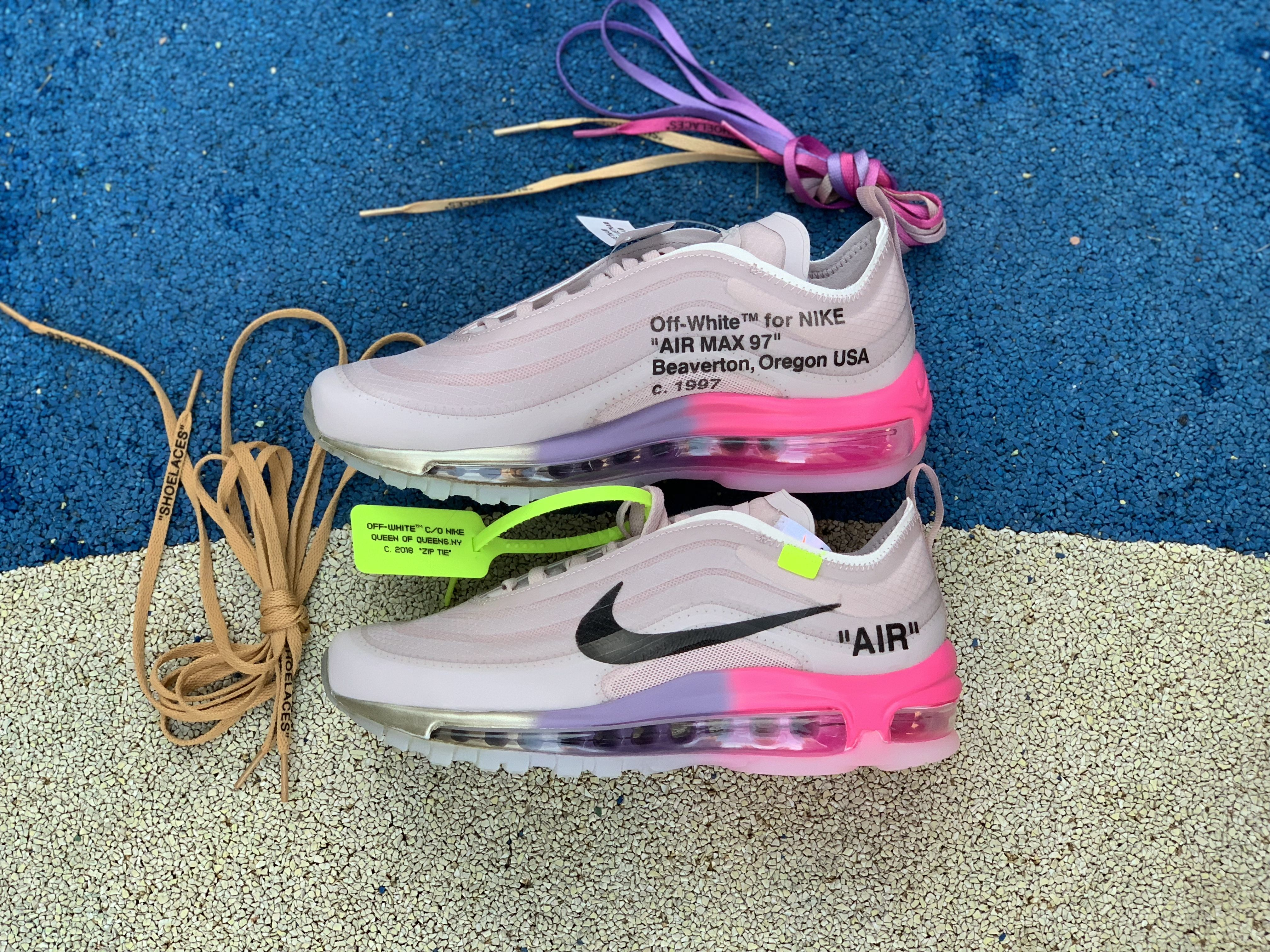 Buy Off White X Air Max 97 Serena Williams Queen Elemental Rose Aj4585 600 Nike Air Max 97 Air Max 97 Air Max