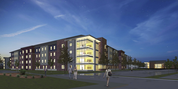 New Student Housing Rendering New Students Housing Options Student House
