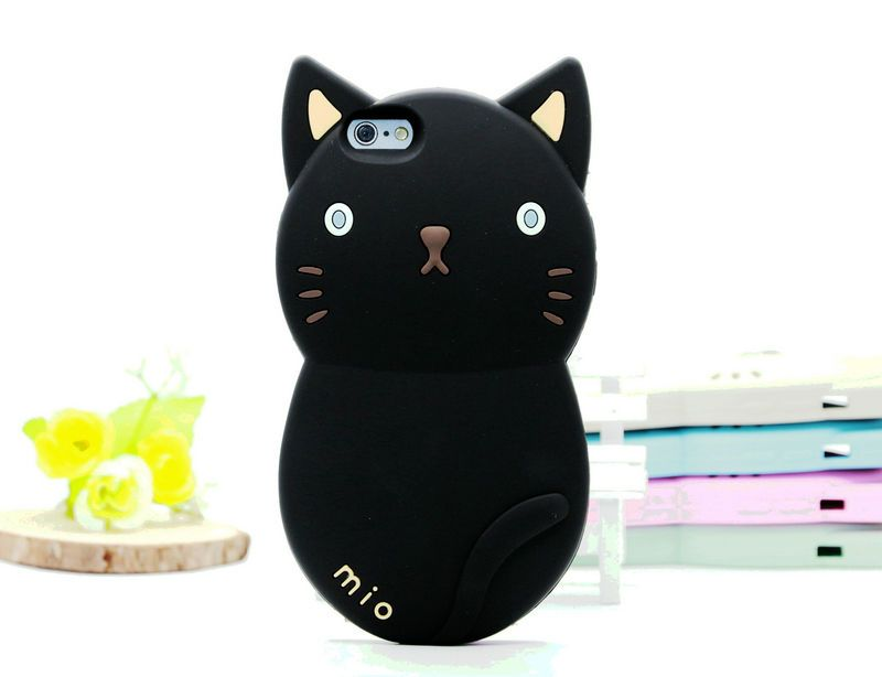 Details about Cute Protective 3D Mio Cat Kitty Soft ...