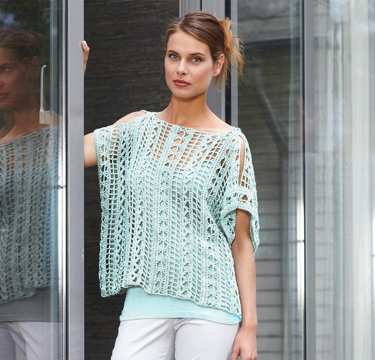 Gulf Coast Top Crochet Kit | Catania, Crochet and Patterns