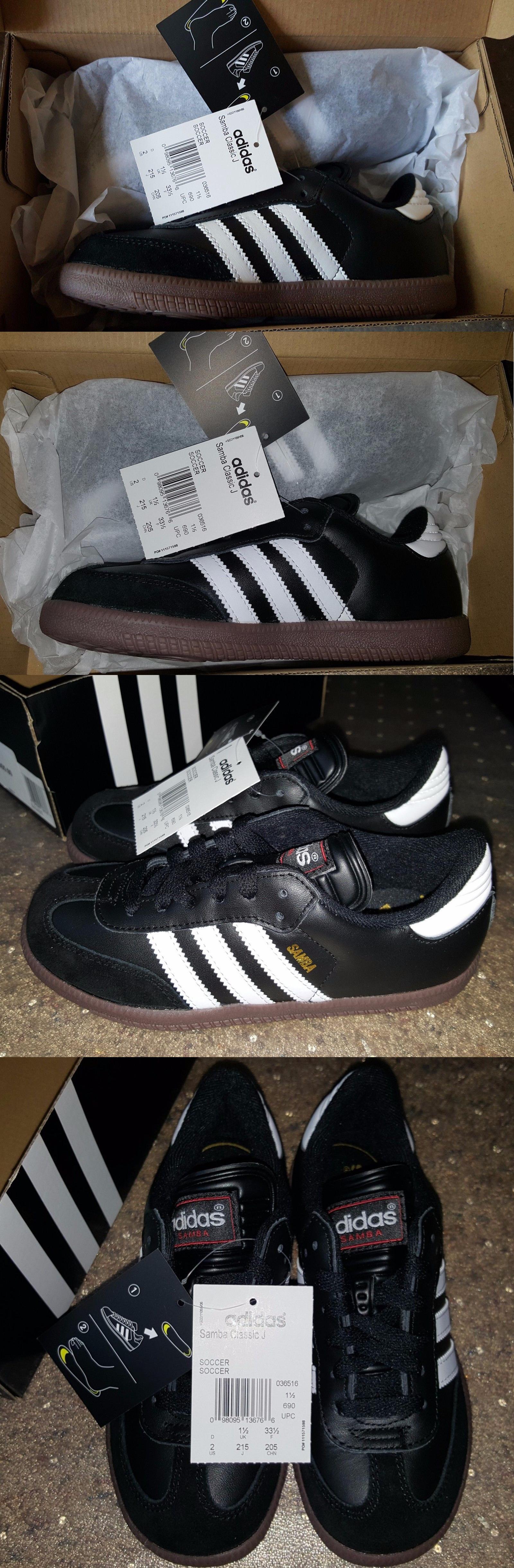 jugend 159177: adidas sambi jugend sportschuhe schwarze unisex - us - größe 2.
