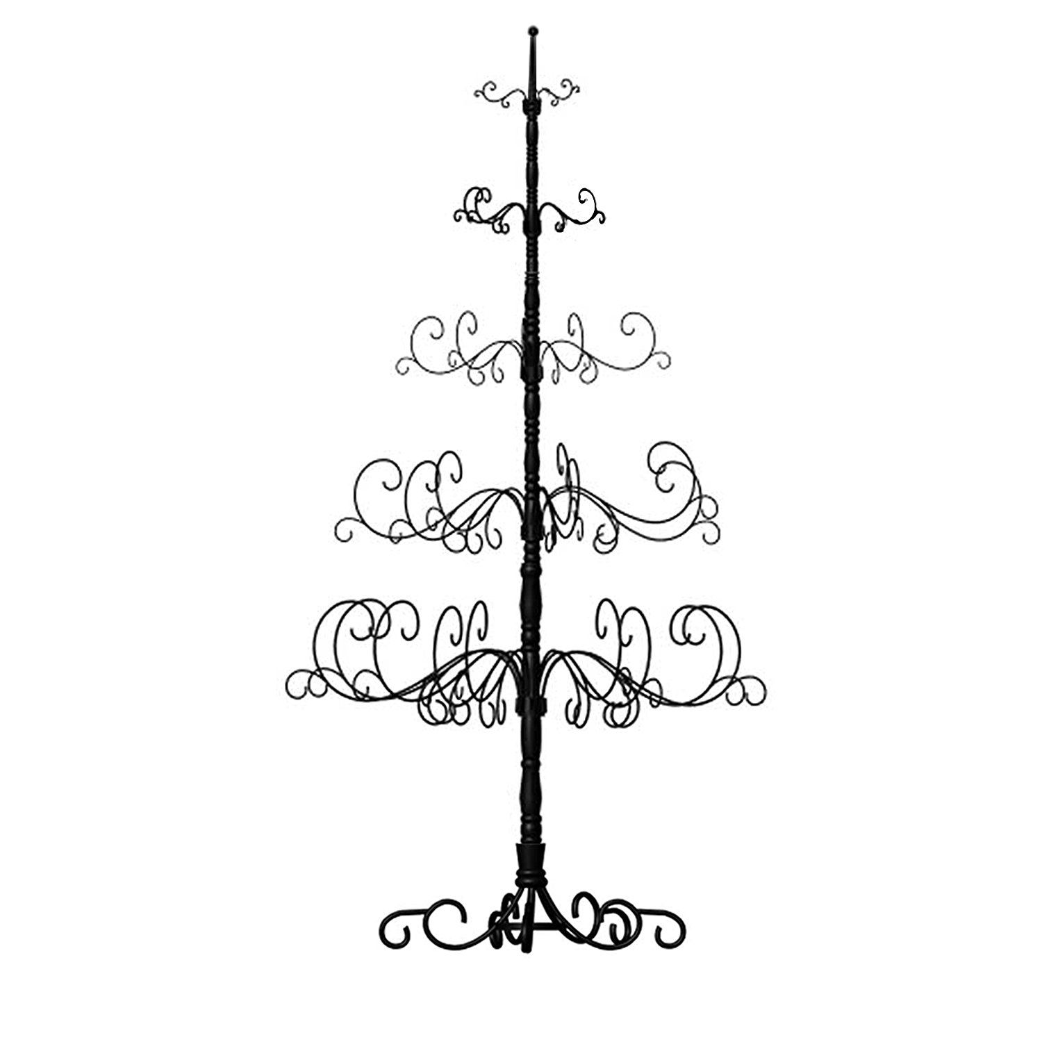 Patch Magic 7-Feet Christmas Tree, 41 by 41 by 84-Inch, Black ...