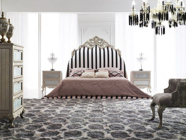 MODERN BEDROOM WITH BAROQUE ELEMENTS