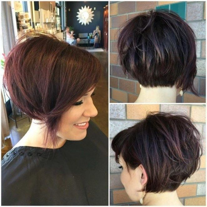 Bob Frisuren Hinten Kurz Bob Frisuren Hair Short Hair Styles