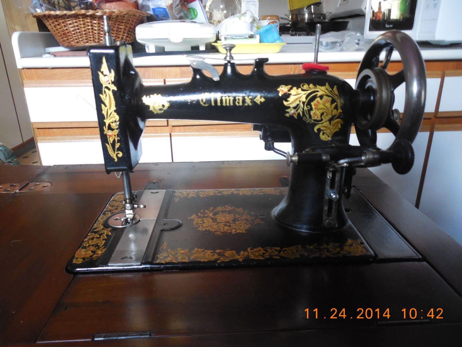 Climax Antique Sewing Machine
