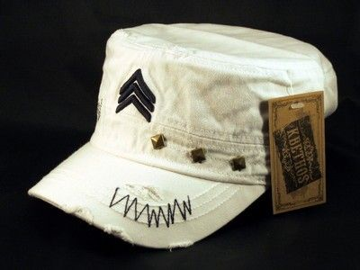 ☆This is a High Quality White Cadet Castro Cap 36d7059546b