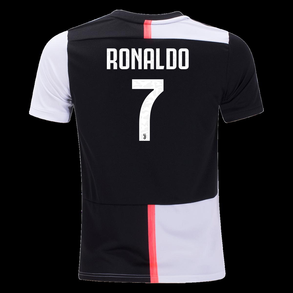 adidas Cristiano Ronaldo Juventus Youth Home Jersey 19/20-yl ...