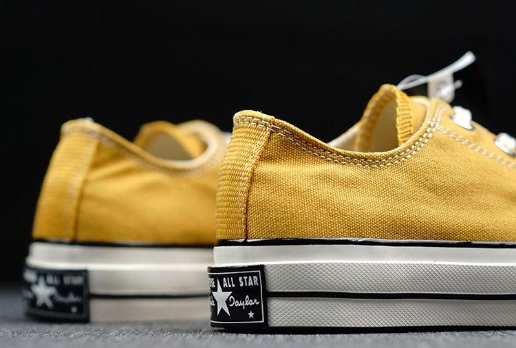 997de975a39e Converse Chuck Taylor All Star 1970S Yellow Low Canvas Shoes  converse   shoes