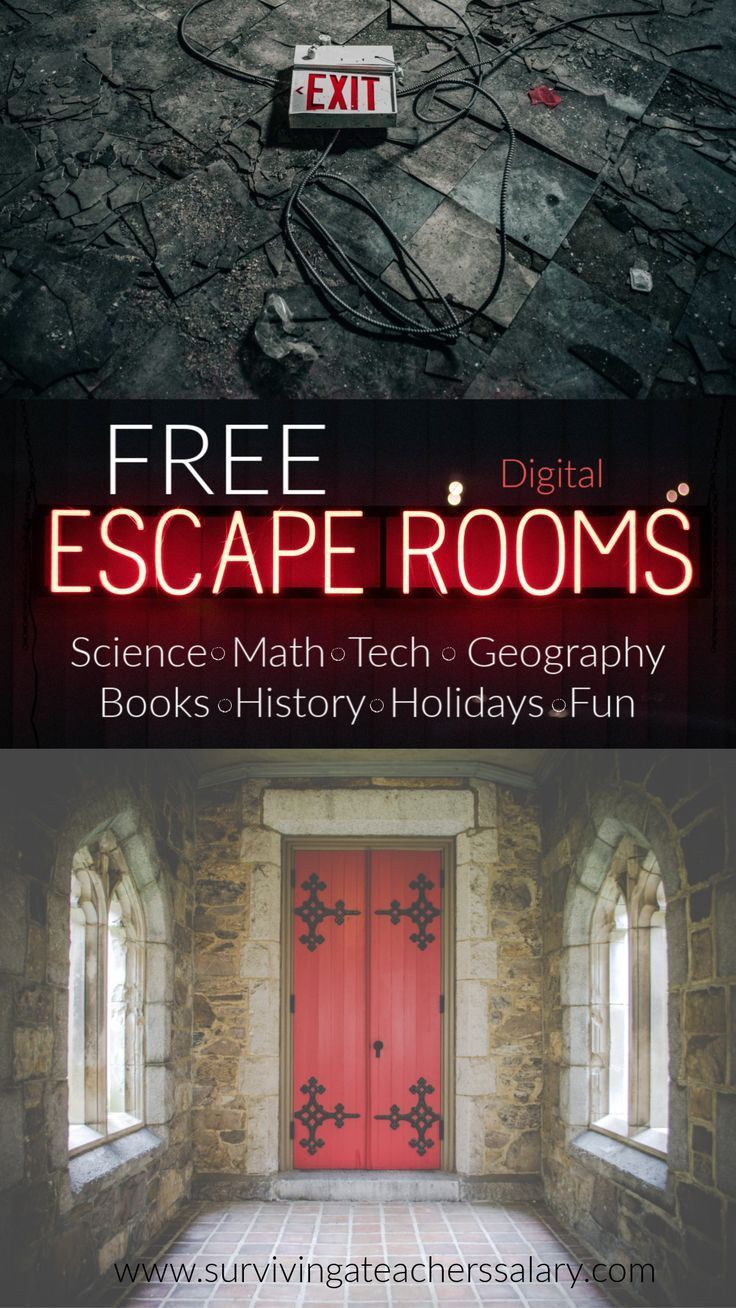 Free Digital Escape Rooms for Kids & Adults + Escape Rooms
