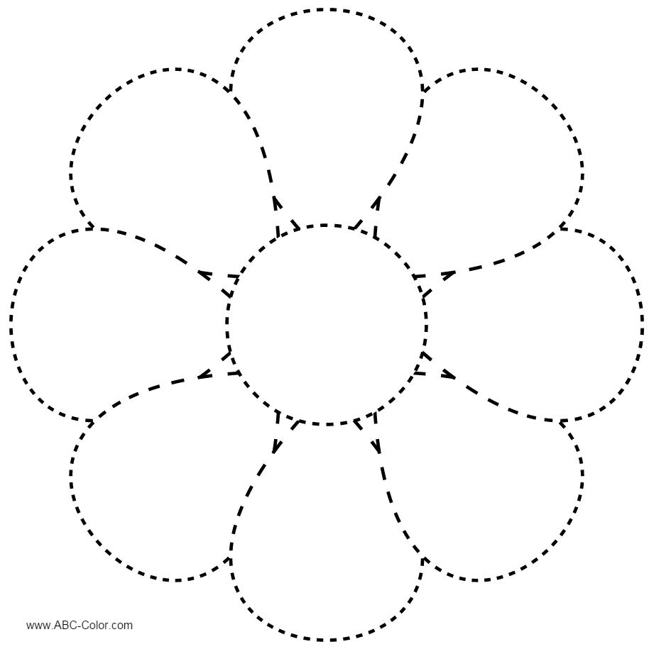 Картинка ромашка для детей шаблоны
