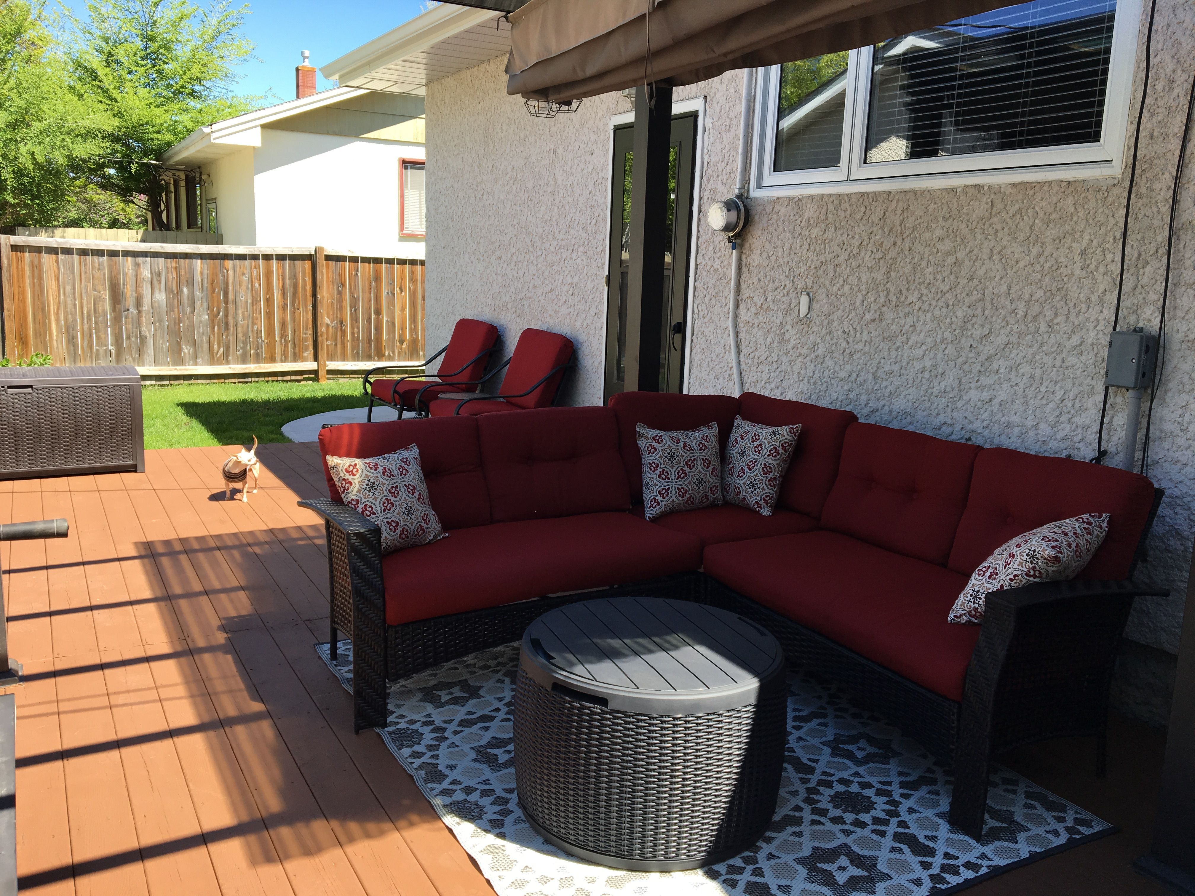Outdoor living space furniture from Walmart | Outdoor ... on Walmart Outdoor Living  id=52272