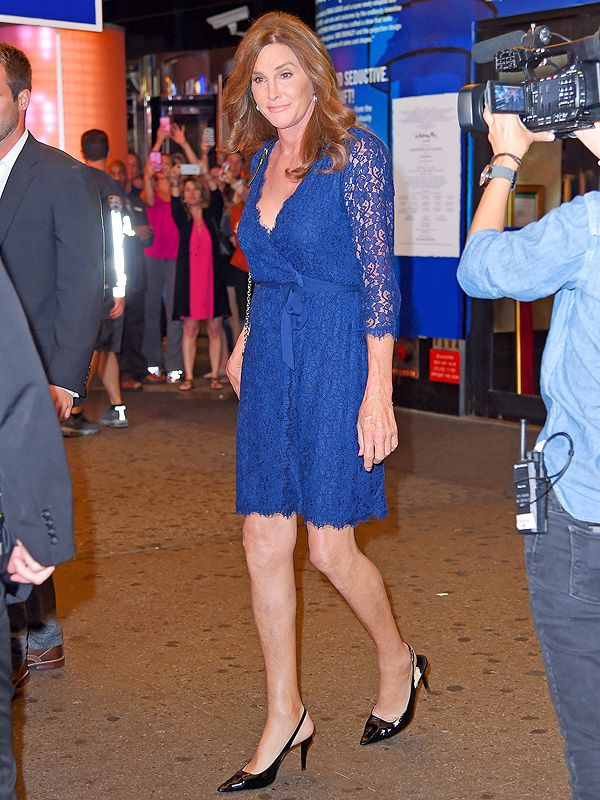 Caitlyn Jenner Lace Dress