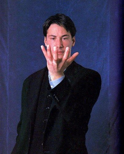 Keanu Reeves - el álbum del Club de Fans