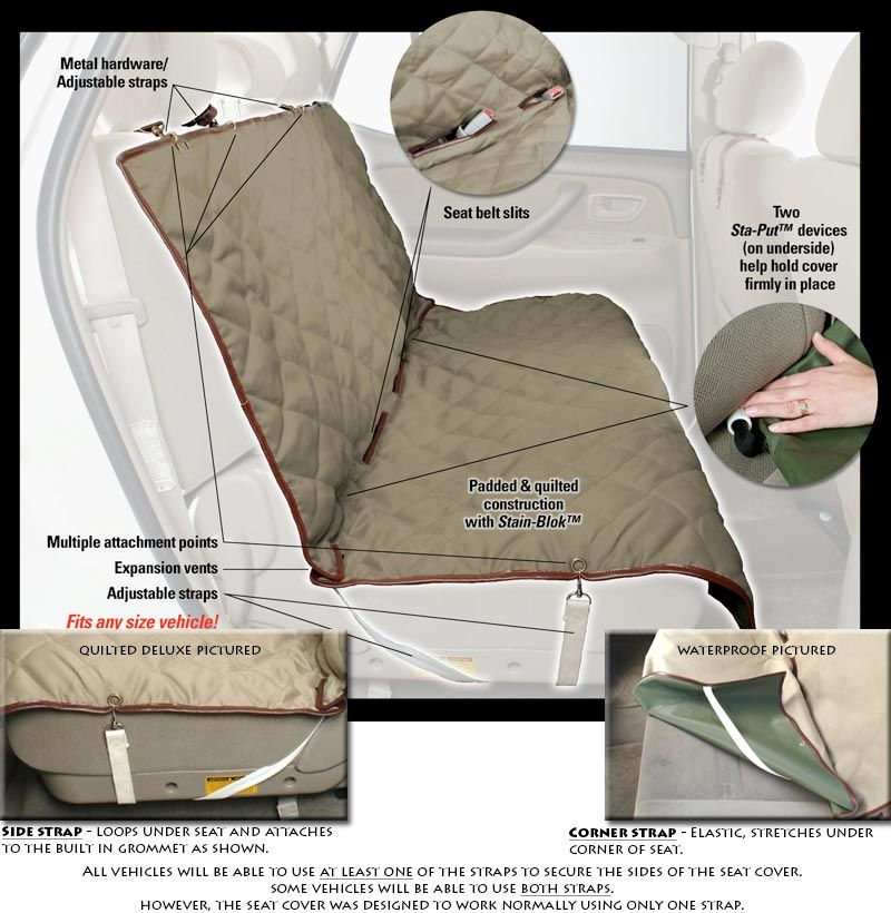 seat protectors for trucks   DOG CAR SEAT COVER - bench pet seat ... : quilted bench seat cover - Adamdwight.com