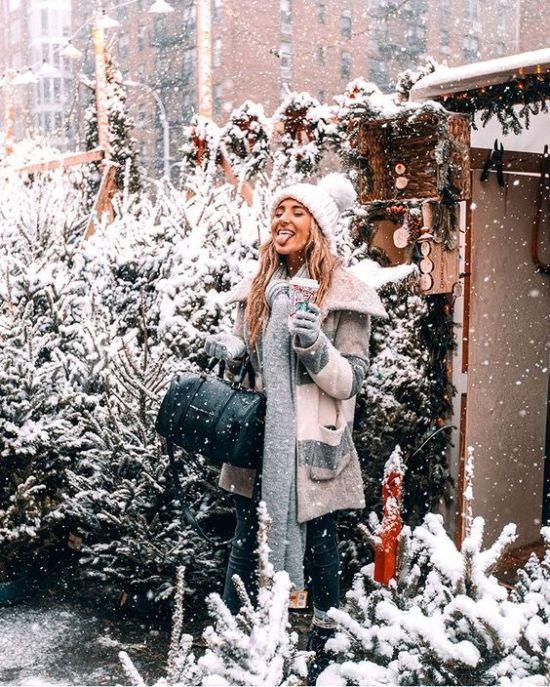 15 Winter Instagram Bildideen für Inspos in dieser Saison   – Insta pic ideas