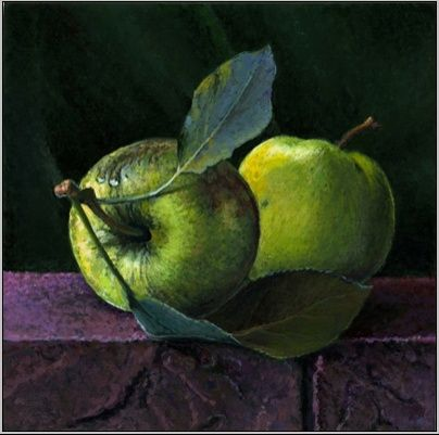 Green Apples Duet: A Step by Step Demo -- Paul Wolber Acrylic