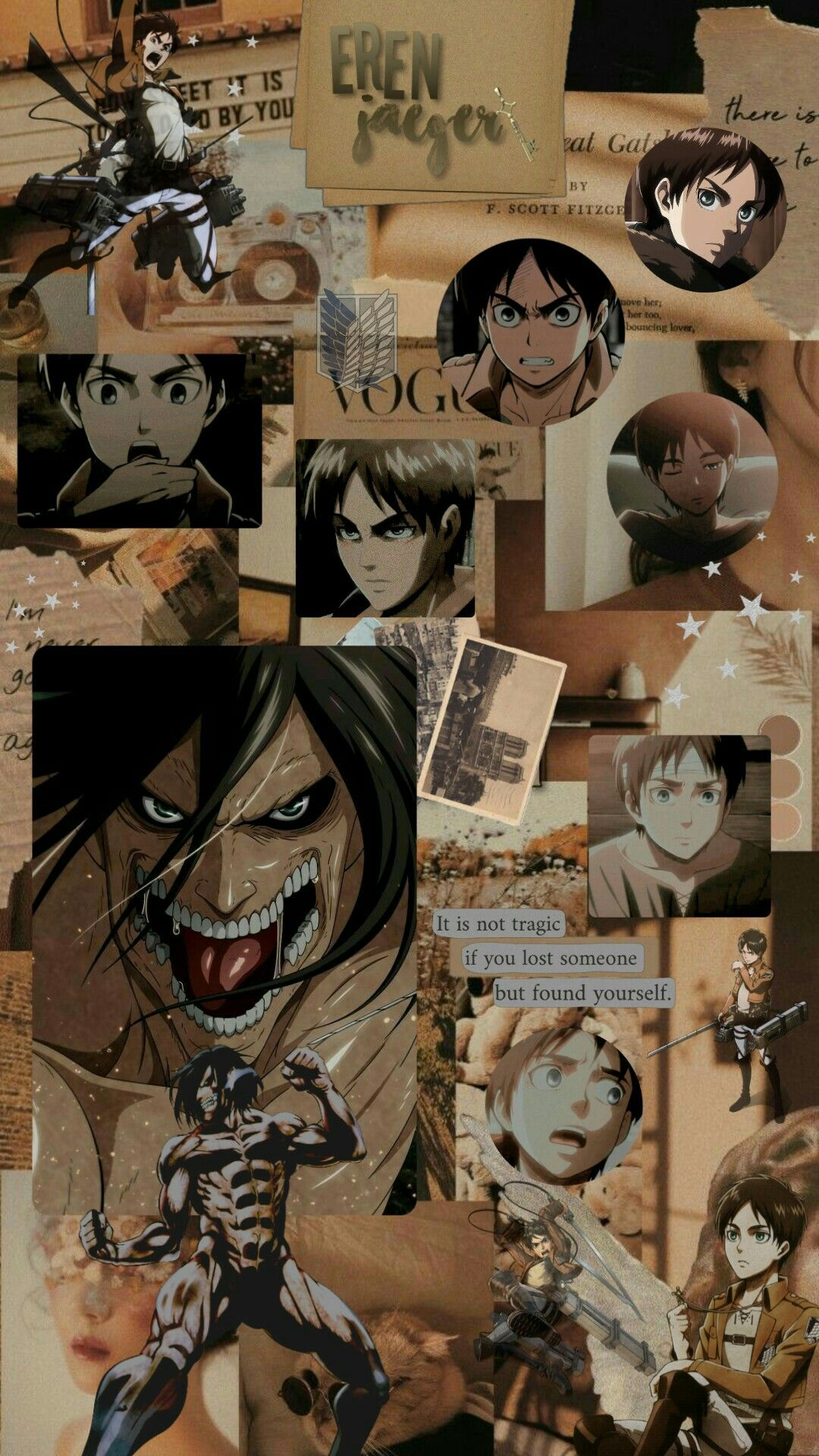 Eren Jaeger Wallpaper : jaeger, wallpaper, Aesthetic, Yandere, Anime,, Anime, Wallpaper,, Wallpaper