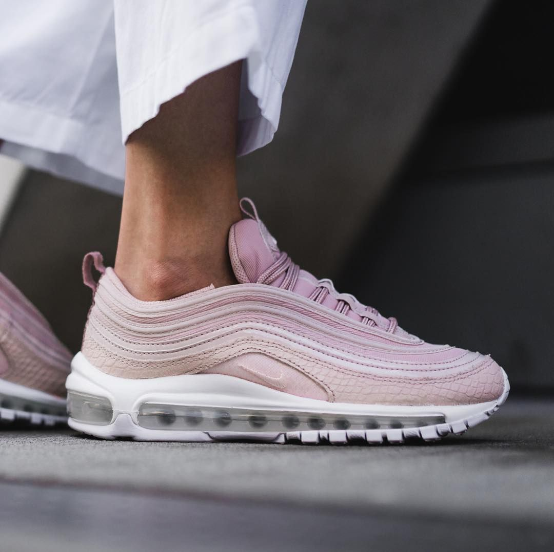 The Nike Air Max 97 Pink Snakeskin Drops Next Month