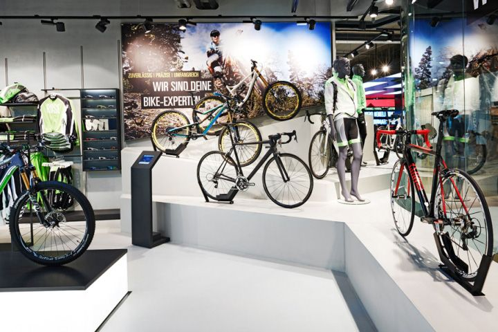 Rose Biketown Store By Blocher Blocher Partners At Mona Mall