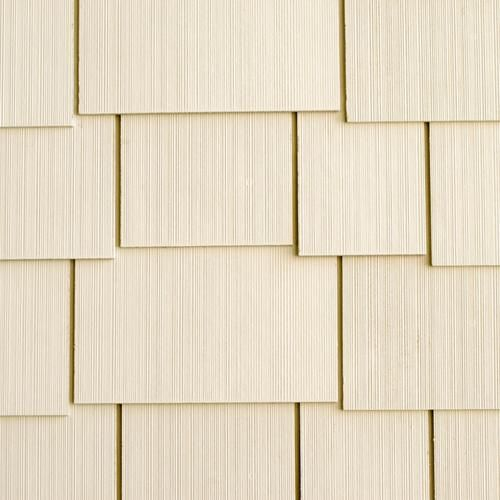 16 X 48 Fiber Cement Shake Siding Staggered Edge At Menards Fiber Cement Shake Siding Shake Siding Fiber Cement