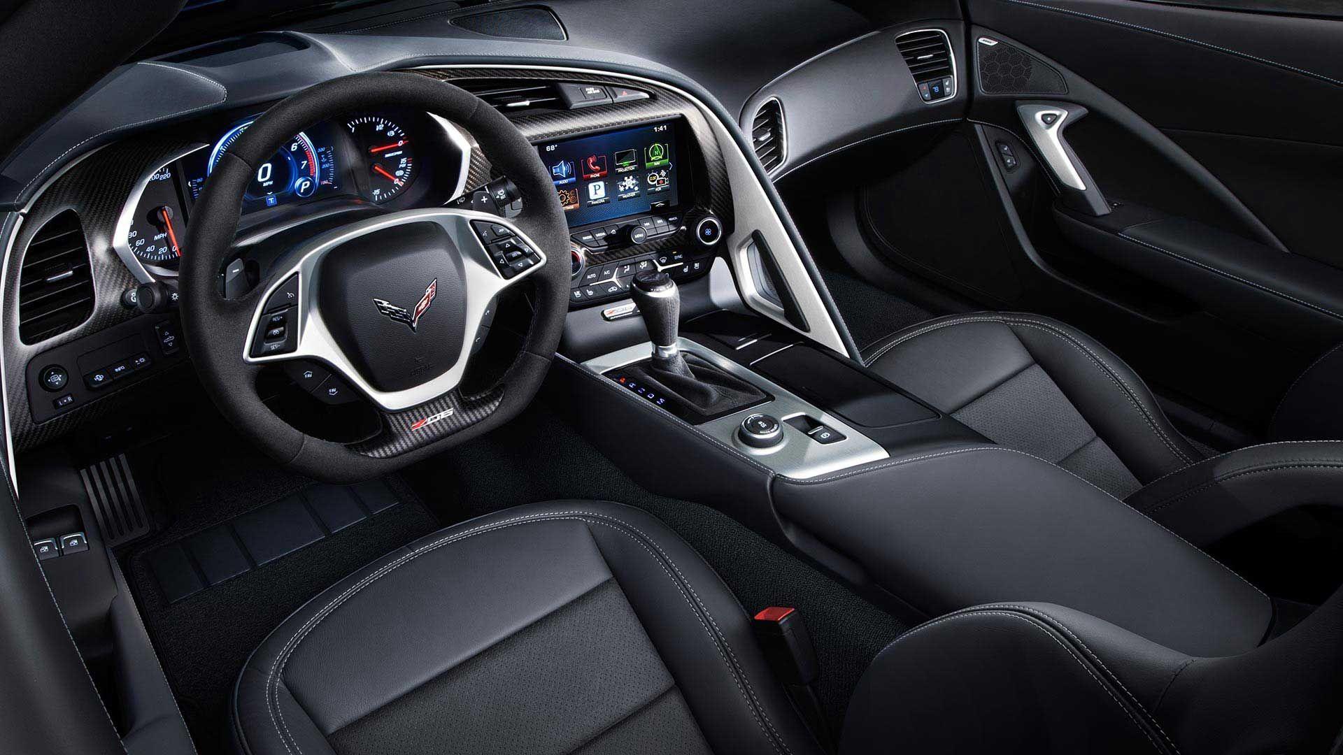 2016 Corvette Z06 Supercar Interior Photos Chevrolet Corvette Corvette Z06 Super Cars
