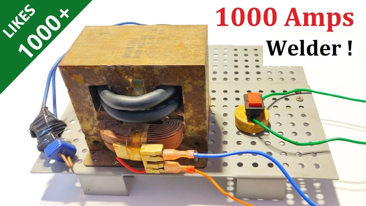 Make 1000 Amps Welding Machine With
