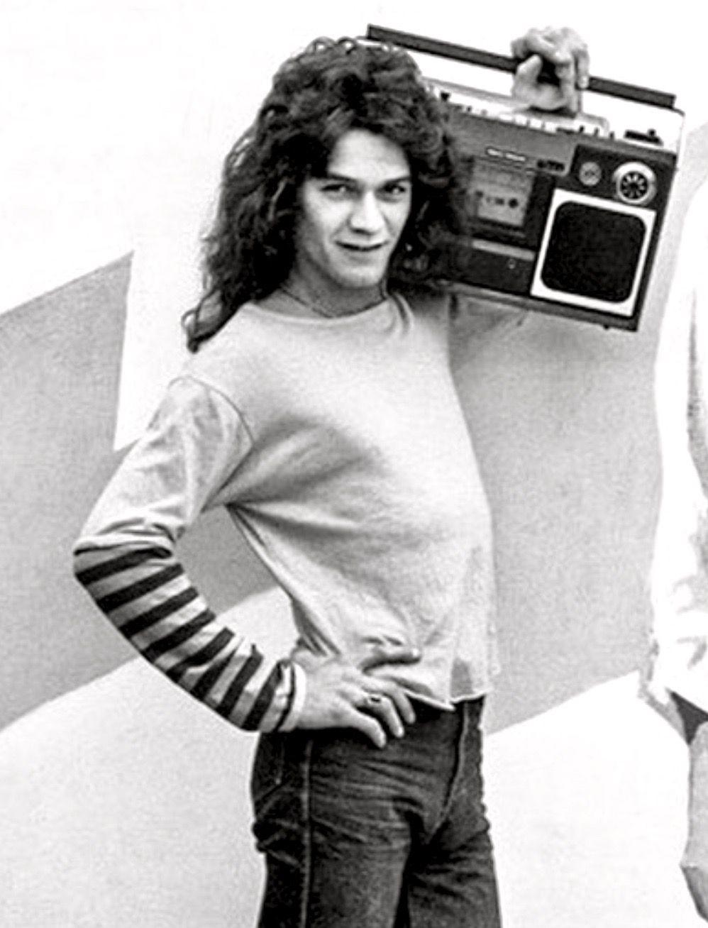 The 70 S Van Halen Eddie Van Halen Music Photo