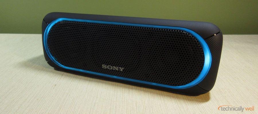 Sony Srs Xb30 Bluetooth Speaker Review Bluetooth Wireless Speakers Bluetooth Bluetooth Speaker
