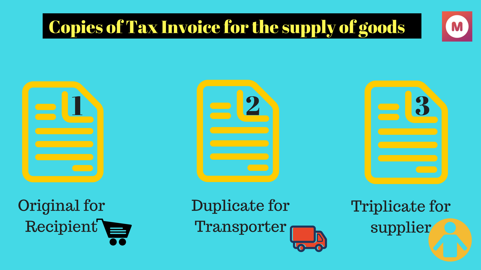 gst invoice for supply of goods
