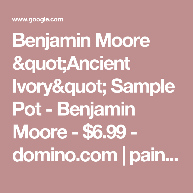 Benjamin Moore \