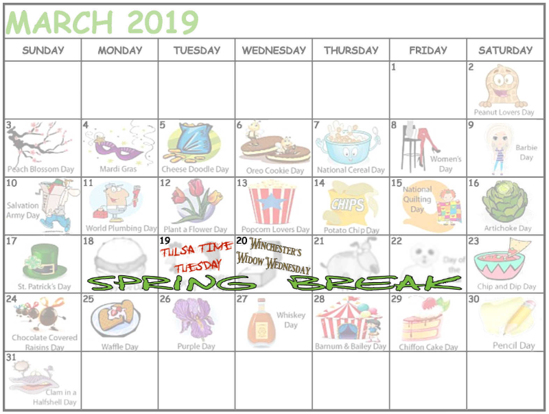 Woohoo Spring Break Savings Are Here Save 20 By Booking Tulsa Time Tuesday Promo Code Springbreaktime And Winche Tulsa Time Spring Break Bullet Journal
