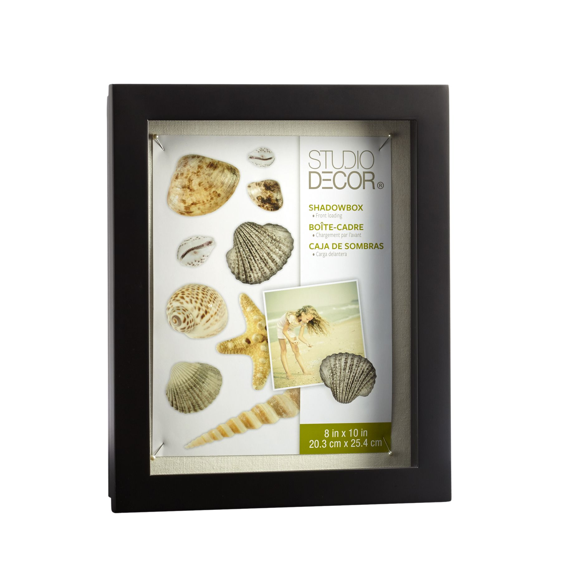 Black Front Opening Shadow Box By Studio Decor Shadow Box Studio Decor Shadow Box Picture Frames