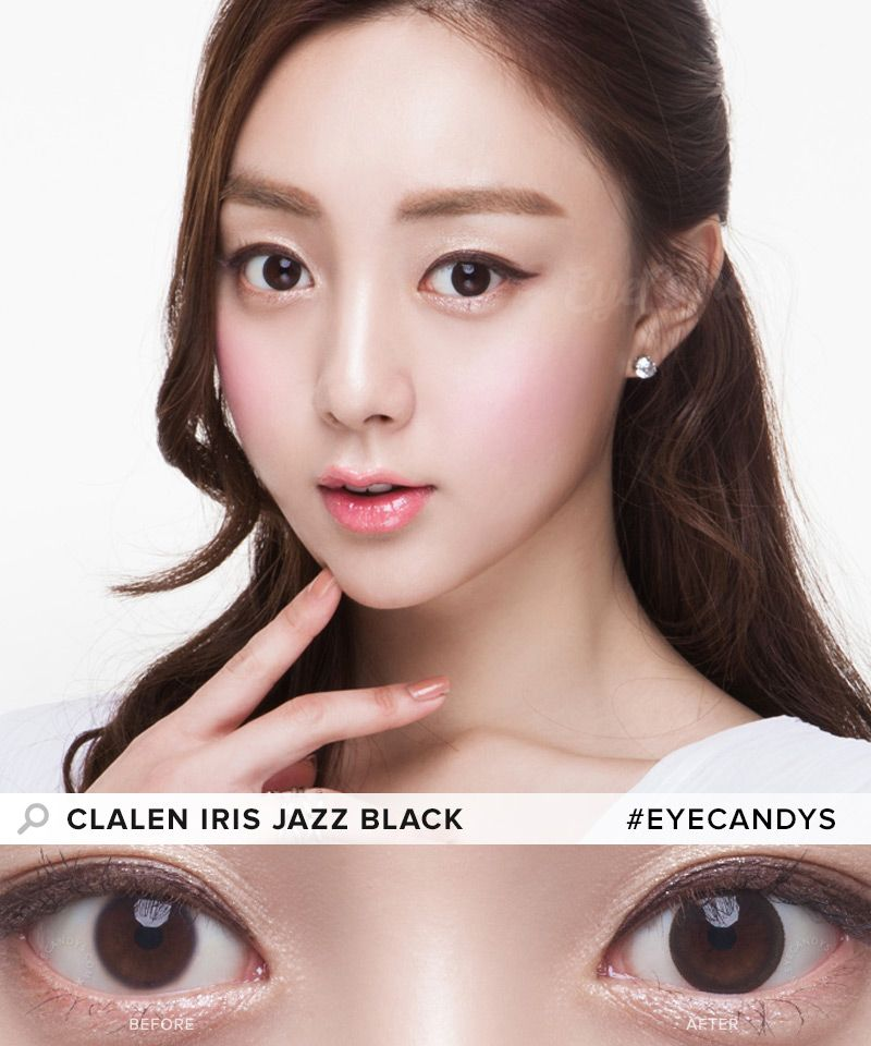 Buy Clalen Circle Lenses By Interojo Eyecandy S Circle Lenses Natural Color Contacts Contact Lenses Colored