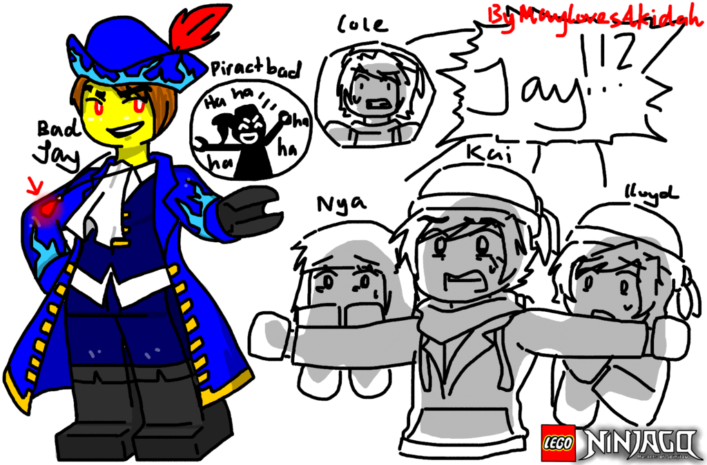 yesssss i took inspiration from some of the pirates of the caribbean posters anyways the outfits are pretty simpl lego ninjago by maylovesakidah
