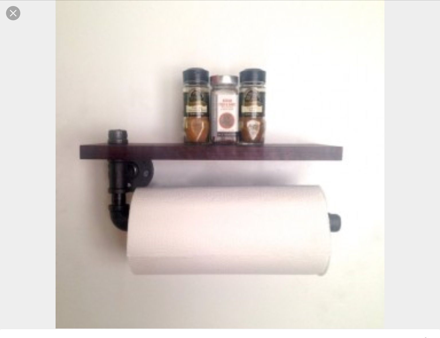 Unique Paper Towel Holders Glamorous Pinkristina Stout On Kitchen Design  Pinterest  Pipe Table Design Inspiration