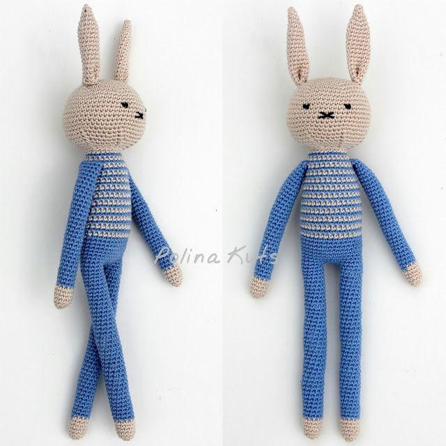 Amigurumi Crochet Rabbit-Free Pattern | Projekter, jeg vil prøve ...
