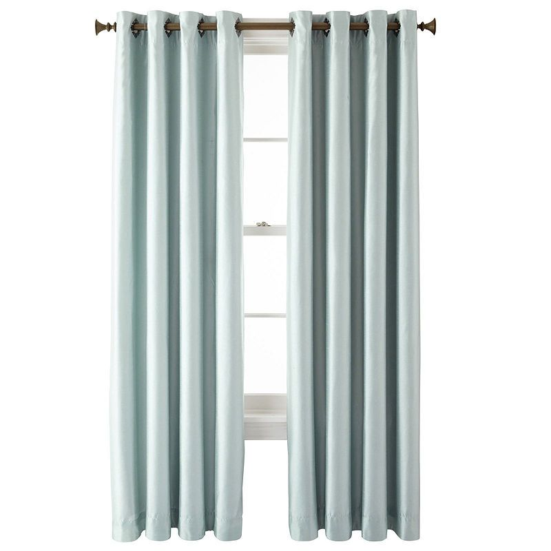 Royal Velvet Plaza Grommet-Top Lined Blackout Curtain