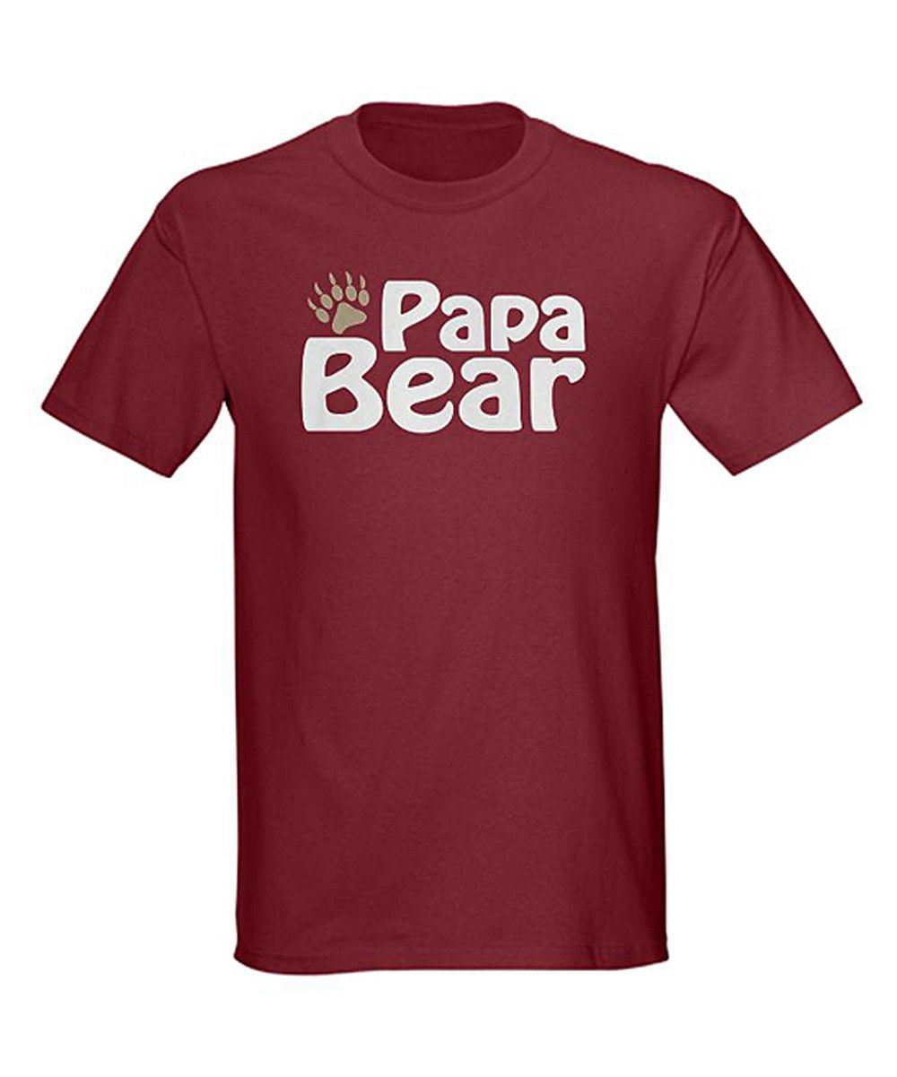 Another great find on #zulily! Cardinal 'Papa Bear' Tee - Men by CafePress #zulilyfinds
