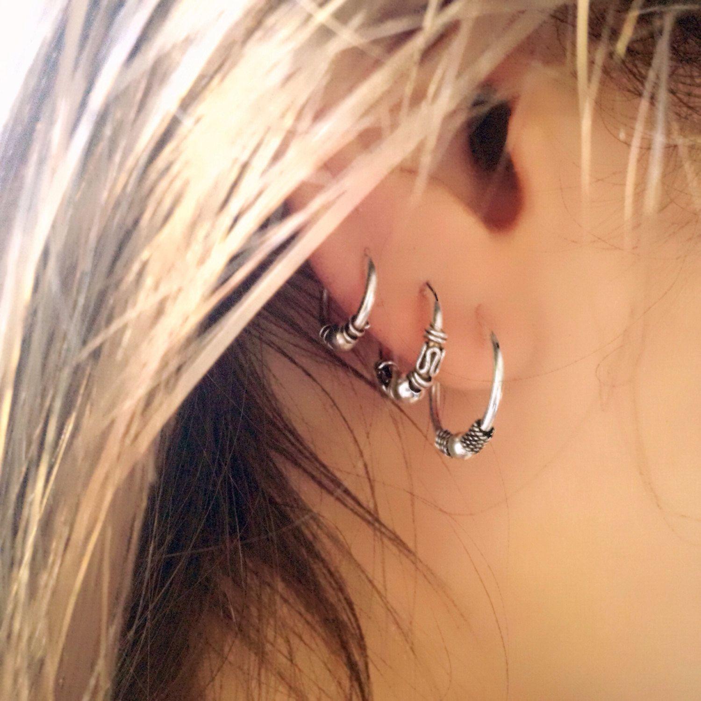 Double nose piercing plus septum  Un favorito personal de mi tienda de Etsy syes