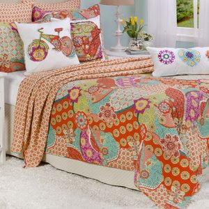 Levtex Home Zanzibar Quilt Collection