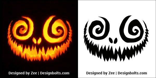 5 Free Venom  U0026 Scary Halloween Pumpkin Carving Stencils