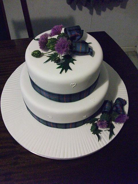 Thistle Cake Topper