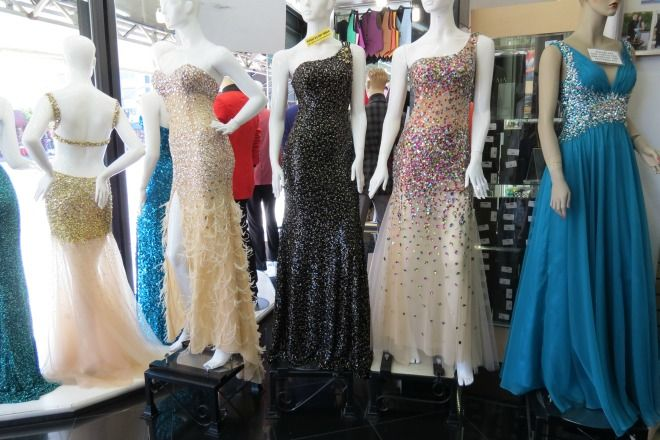 Prom Dresses at the LA Fashion District | Prom | Pinterest | La ...