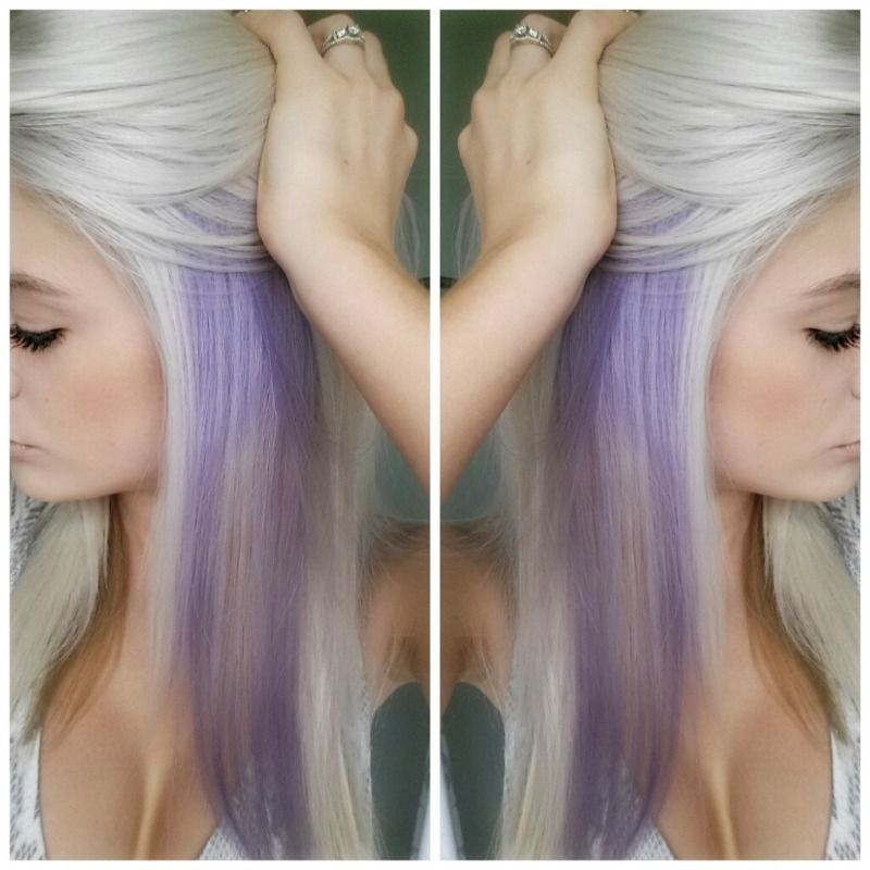 Photo By Sarahp898 Picmonkey Photo Editing Made Of Win Peekaboo Hair Hair Color Underneath Lavender Hair Ombre