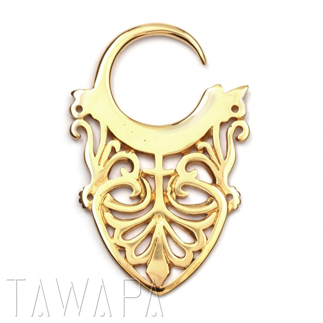 Belly button piercing needle size  Gold Plated Small Maori Damask  Piercings  Pinterest  Maori