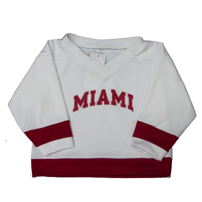 54a7b5a06e5 Miami University Toddler Hockey Jersey - K1 Sportswear