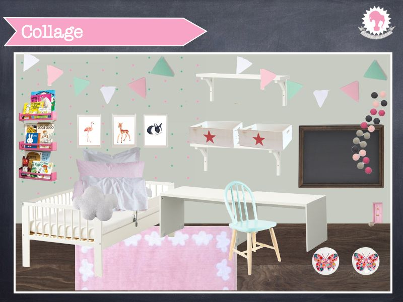 Proyecto de kidsmopolitan habitaci n ni a de dos a os for Decoracion de cuartos para nina de 7 anos