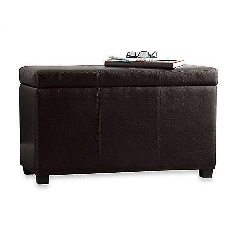 Sullivan Storage Bench With Tray Top   BedBathandBeyond.com